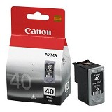 CANON Black Ink Cartridge [PG-40] - Tinta Printer Canon